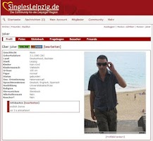 Screenshot of Singles-Leipzig.de