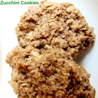 Chocolate Peanut Butter Zucchini Cookies