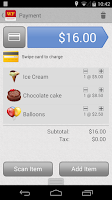 Screenshot of WF Mobile Merchant Phone