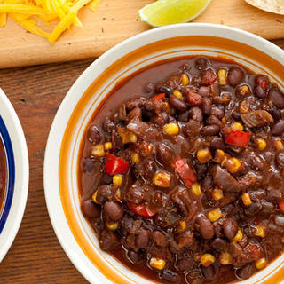 Pressure Cooker Vegan Black Bean Chili