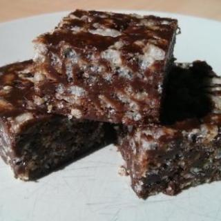 Vegan Gluten-Free Chocolate Rice Krispie treats