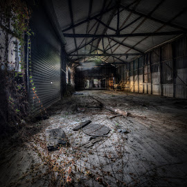 Natural Flooring by Daryl James - Buildings & Architecture Decaying & Abandoned ( shed, floor, decay )
