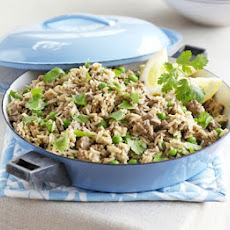 Spiced Lamb & Coconut Pilaf