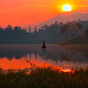 by Ymmot Davinci - Landscapes Sunsets & Sunrises