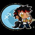 Sagittarius Clock widget icon