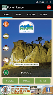 MT State Parks Outdoors Guide - screenshot