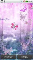 Screenshot of Diamond Pink Butterflies