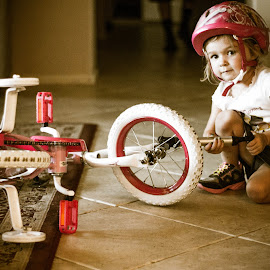 A Girl & her Bike by Brandi Scoggins - Babies & Children Children Candids (  )