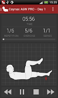 Screenshot of Abs workout PRO