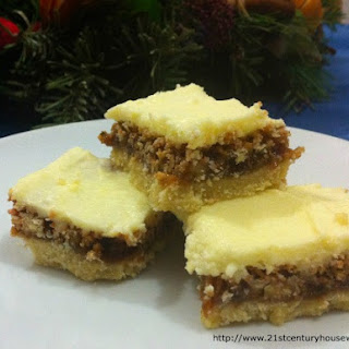 Lemon and Walnut Squares