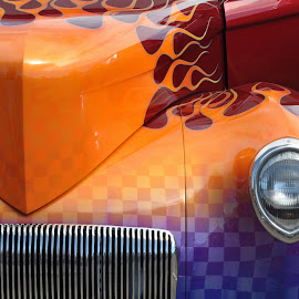 Hot Rod by Dawn Hoehn Hagler - Transportation Automobiles ( car, cops and rodders, automobile, car show, hot rod )