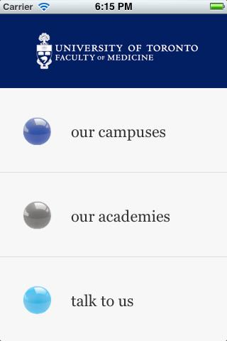 UofT Medical Academies