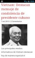 Screenshot of Cuba Noticias