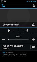 Screenshot of myVoicemail Answering Machine