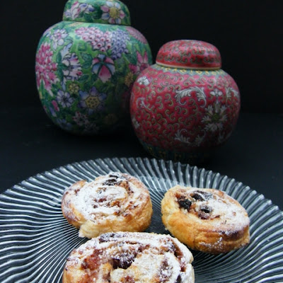 Simple Coconut & Jam Pastries