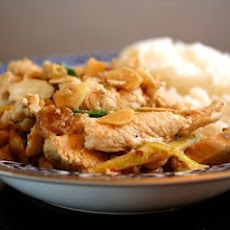Ginger Chicken with Almonds