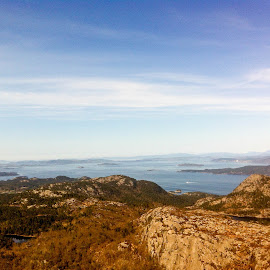 Ryfylke, Norway by Trond Strand - Instagram & Mobile iPhone ( water, mountains, sky, summer, sea, stavanger, hiking, fjord, norway )