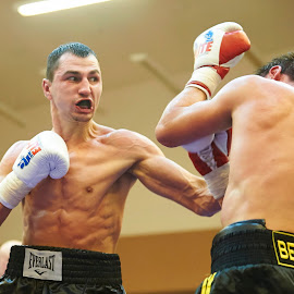 Victor Postol left hand punch by Andrey Okhrimets - Sports & Fitness Boxing