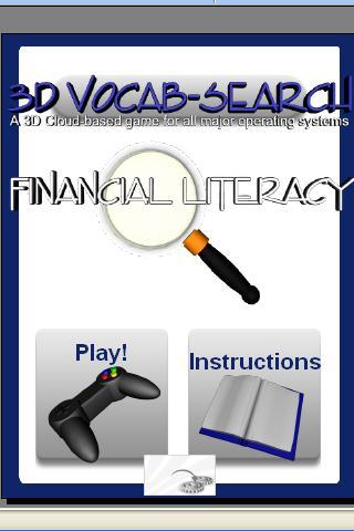 3D Vocab Search: Financial Lit