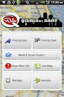 Screenshot of QikRide: DART Dallas