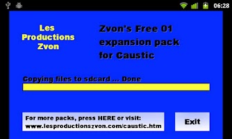 Screenshot of Caustic Free Pack 01 from Zvon