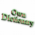 Dictionary, Vocabulary trainer icon