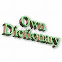 Dictionary, Vocabulary trainer icon