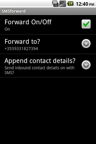 SMSforward - Full version
