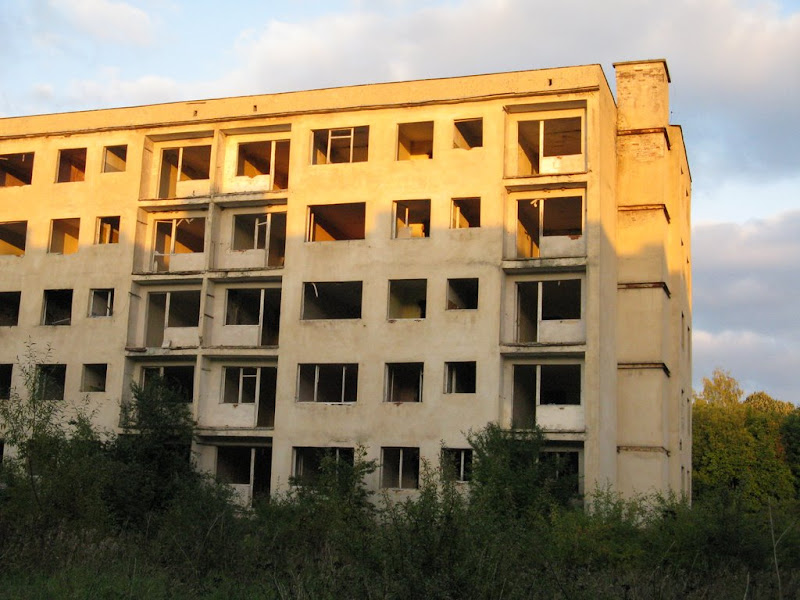 Ciekawe miejsca Kłomino blok