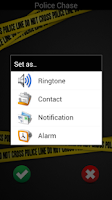 Screenshot of Police Ringtones Free