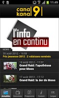 Screenshot of Canal9