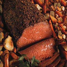 Spiced Roast Beef and Vegetables