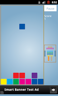Falling Blocks - screenshot