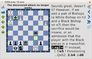Screenshot of pbchess - chess training