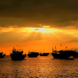blessing boat by Tito Pradipta - Transportation Boats (  )