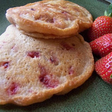 Healthy, Vegan and Terrific Strawberry Pancakes