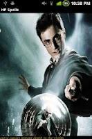 Screenshot of Harry Potter Spells