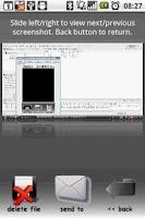 Screenshot of Screen Capture Blue