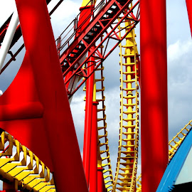by Stephen Hall - City,  Street & Park  Amusement Parks