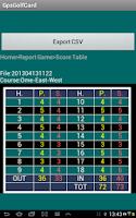 Screenshot of Golf Scorecard & GPS Caddy