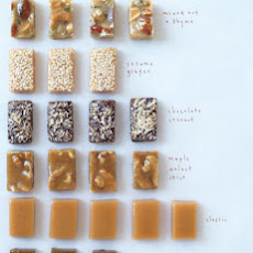 Sesame Ginger Caramel Candies