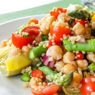 Pesto Quinoa Salad