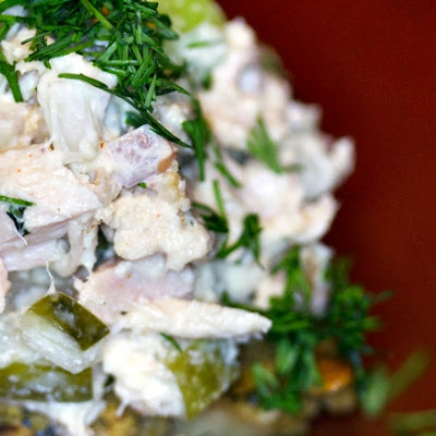 Paleo Tuna Salad, A Picnic Snack or Lunch Idea for Sandwiches