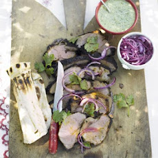 Indian Spiced Barbecued Lamb
