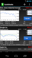 Screenshot of QuickStocks - Stocks & Charts