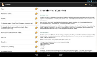 Screenshot of Diseases Dictionary (FREE)