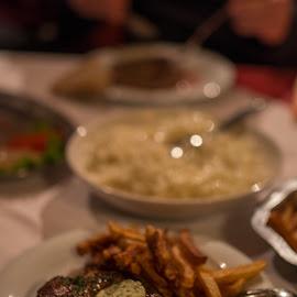 Steak by Luka Popadić - Food & Drink Plated Food ( steak, pentaxk5, food, meat, croatia, trilj, sigma 35mm f1.4 art,  )