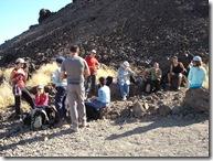 En la base del Teide