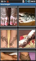 Screenshot of Hina/ Mehndi/ Bridal Designs