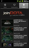 Screenshot of Join DOTA